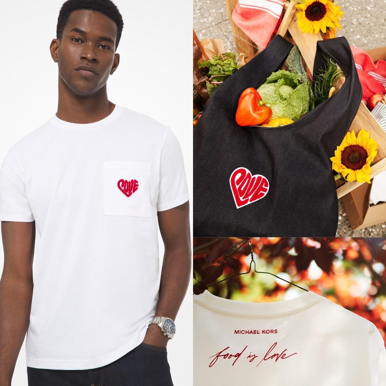 『マイケル・コース』の社員が広告塔!「ウォッチ・ハンガー・ストップキャンペーン」のTシャツ&バッグの新デザイン発表♡_2