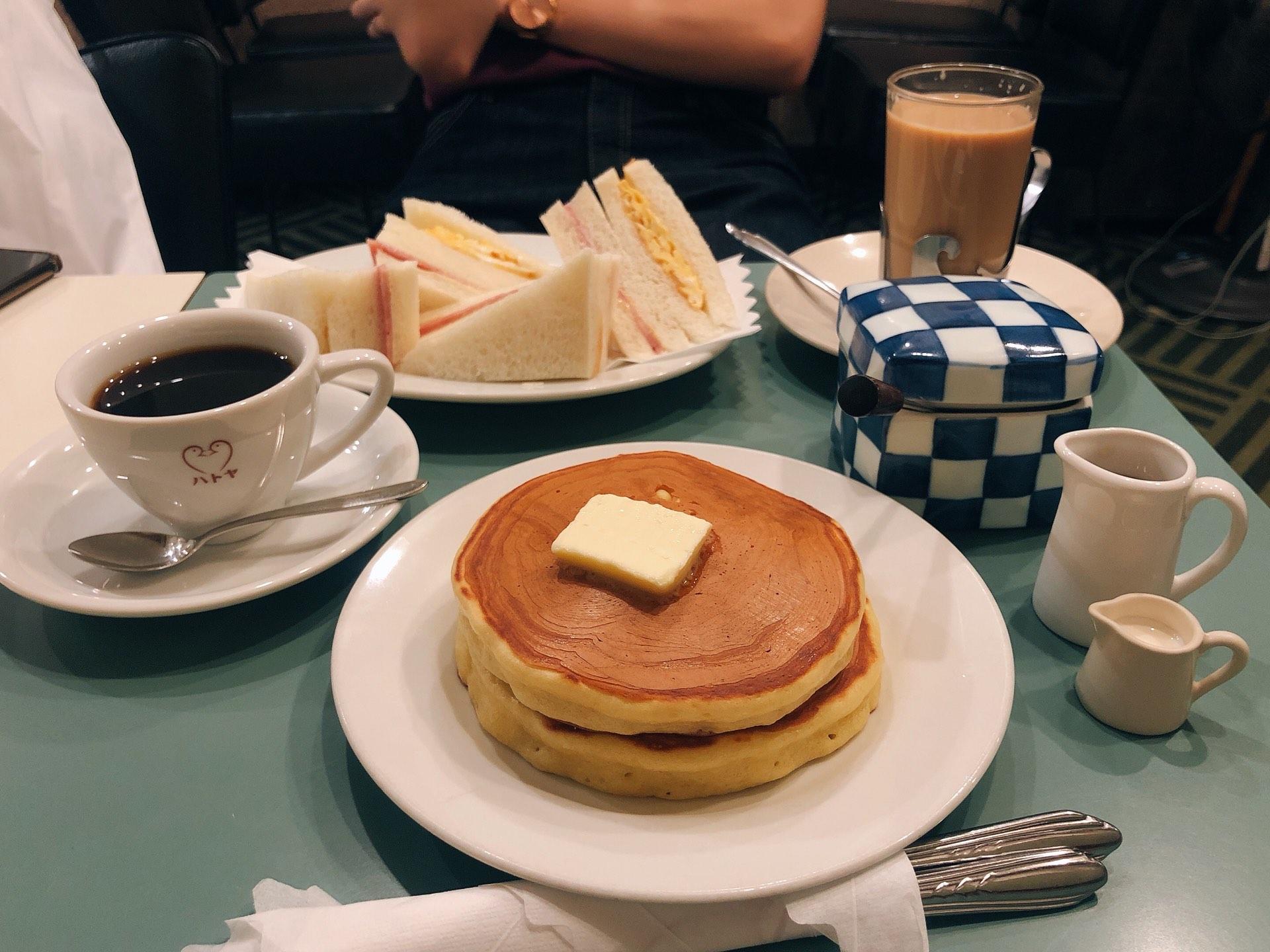 ハトヤのパンケーキ画像