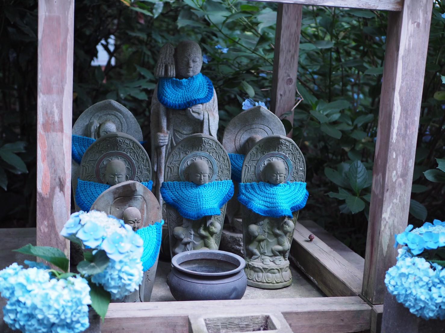 【6月鎌倉旅】#明月院ブルー あじさいの旅♩ _4
