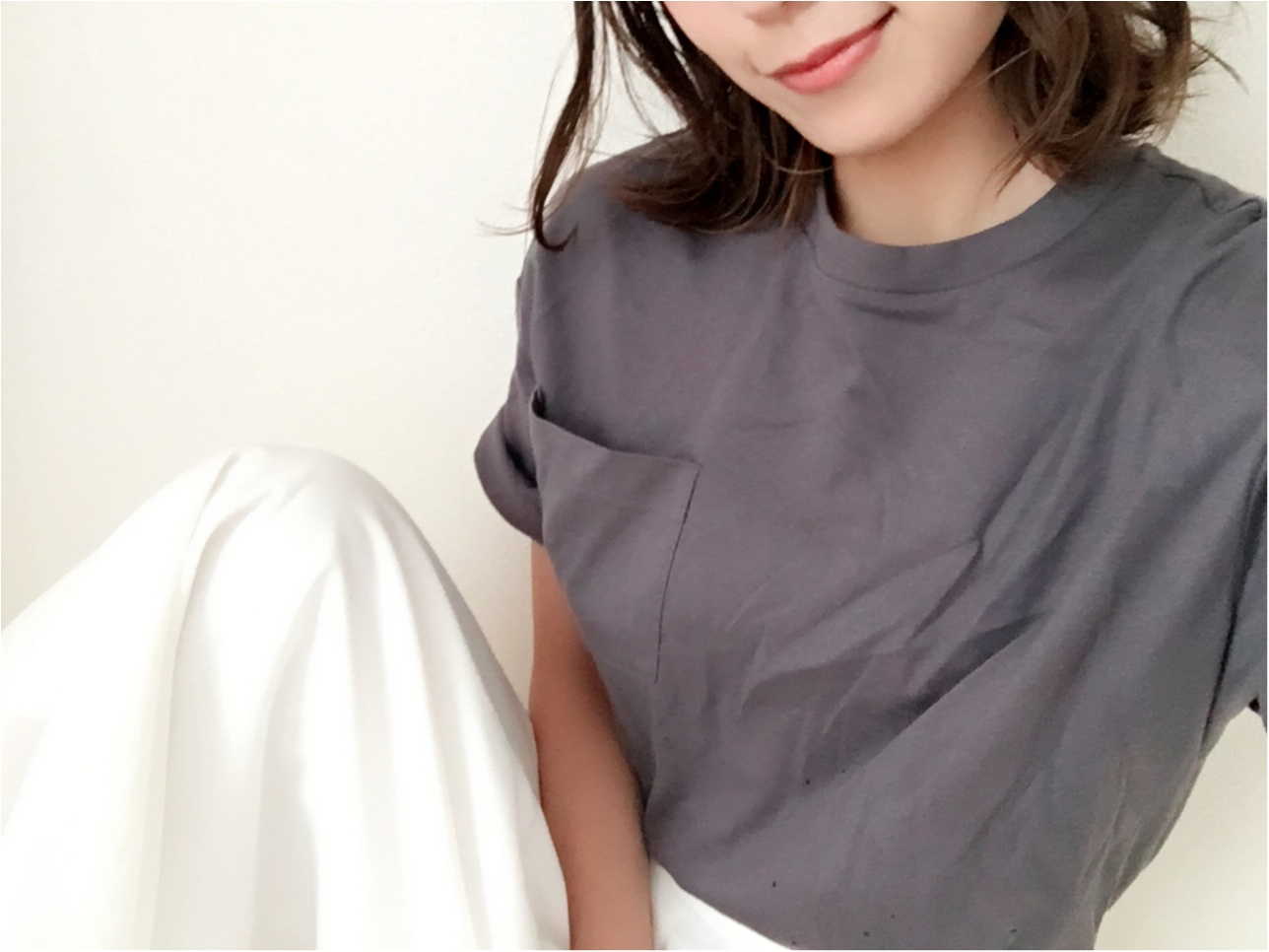 ★《UNIQLO》1000円Tシャツ×《GU》1490円ワイドパンツでプチプラコーデ♩♩_1