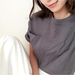 ★《UNIQLO》1000円Tシャツ×《GU》1490円ワイドパンツでプチプラコーデ♩♩