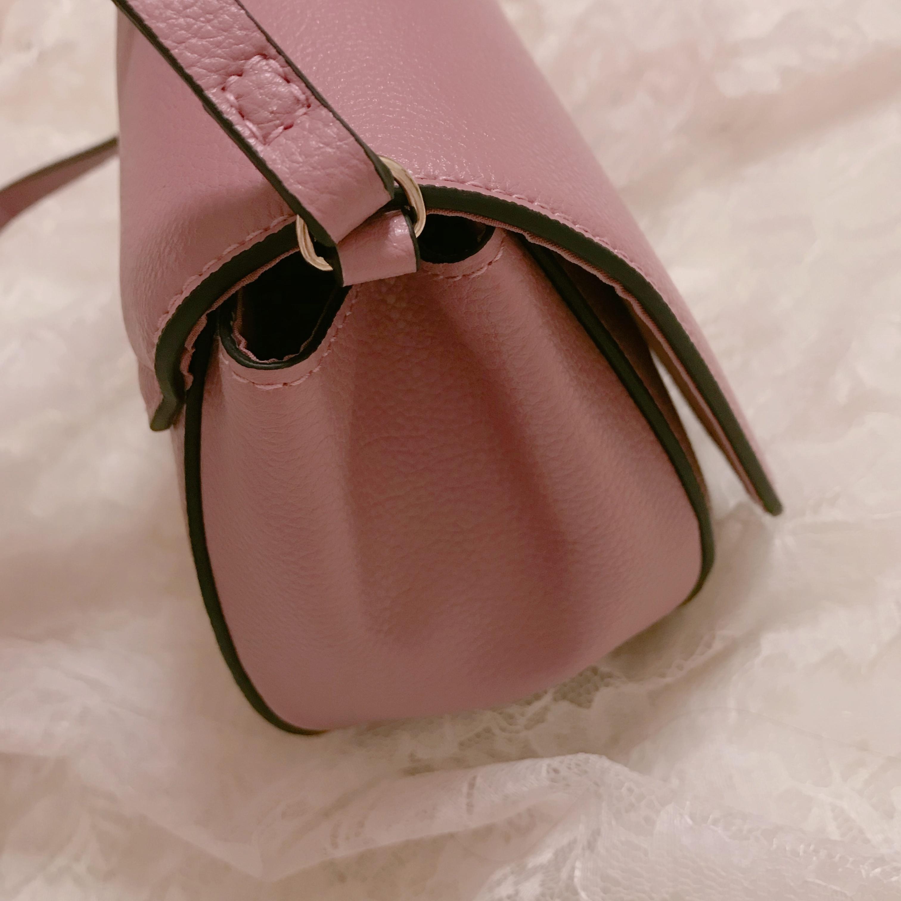 【H&M】ショルダーバッグが2000円以下❤︎プチプラなら挑戦しやすいアクセントカラーがおすすめ!_4