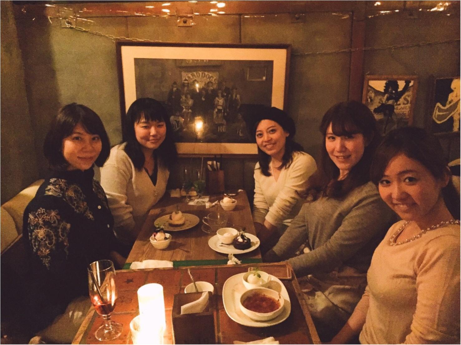 モアハピ部8期×9期で女子会♡渋谷の//and people//にて!_1