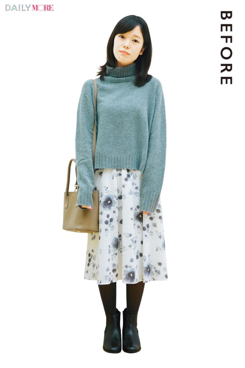 人気スタイリスト高野麻子さんがプロの技で改造! 「太って見えそうな服」BEFORE→AFTER_1_1
