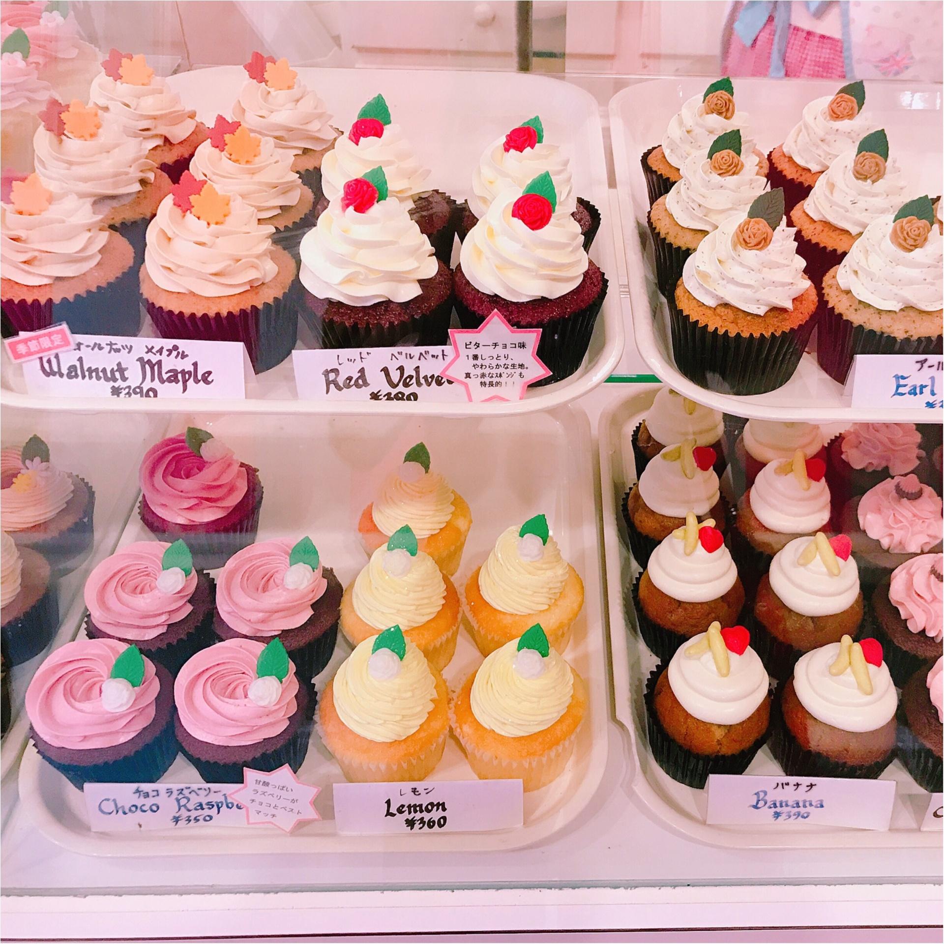 ★これからの時期には欠かせない⁈手土産にオススメ♡『London Cupcakes』のカップケーキ★_1