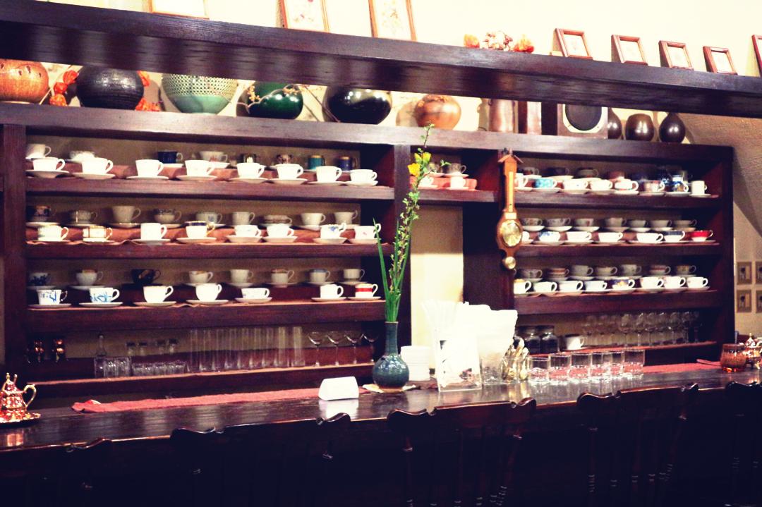 カクテルグラスで味わう美しすぎるコーヒー♡池袋の隠れ家カフェはここ!「皇琲亭」☻_3