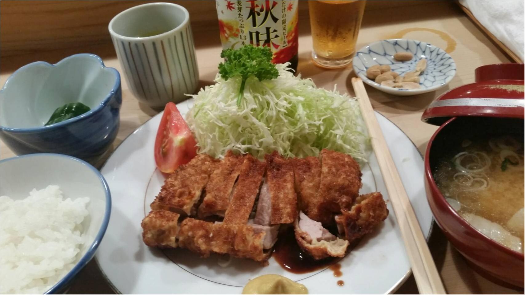 目黒駅から徒歩数分「とんき」はとんかつが美味しい上に店員さんが凄い!_6