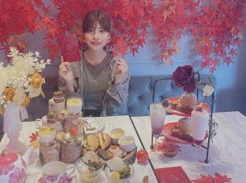 【秋のAfternoonTea】中目黒で見つけた紅葉に囲まれるアフタヌーンティー!