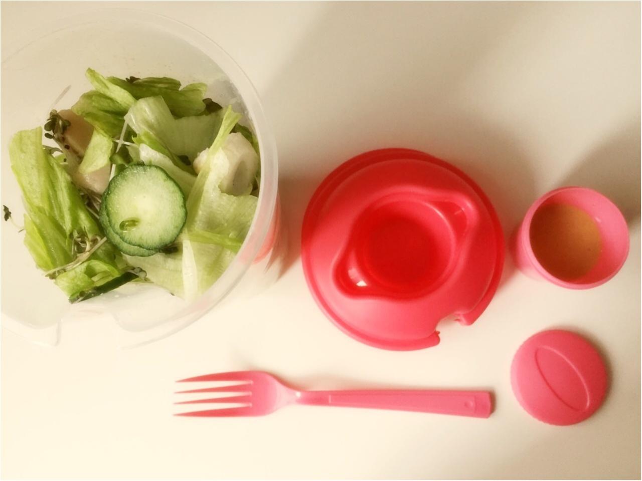 お野菜たっぷり!毎日サラダランチ♡*_2