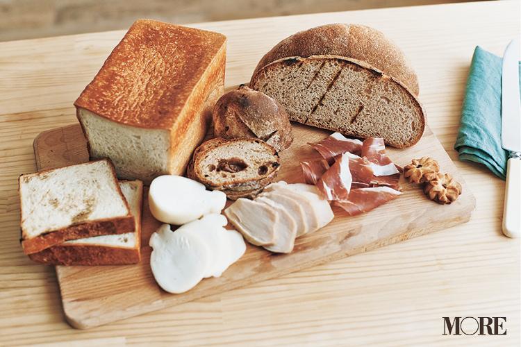 長野県のおすすめお取り寄せグルメ「わざわざ」のパンと生ハム・チキンハム・チーズのセット