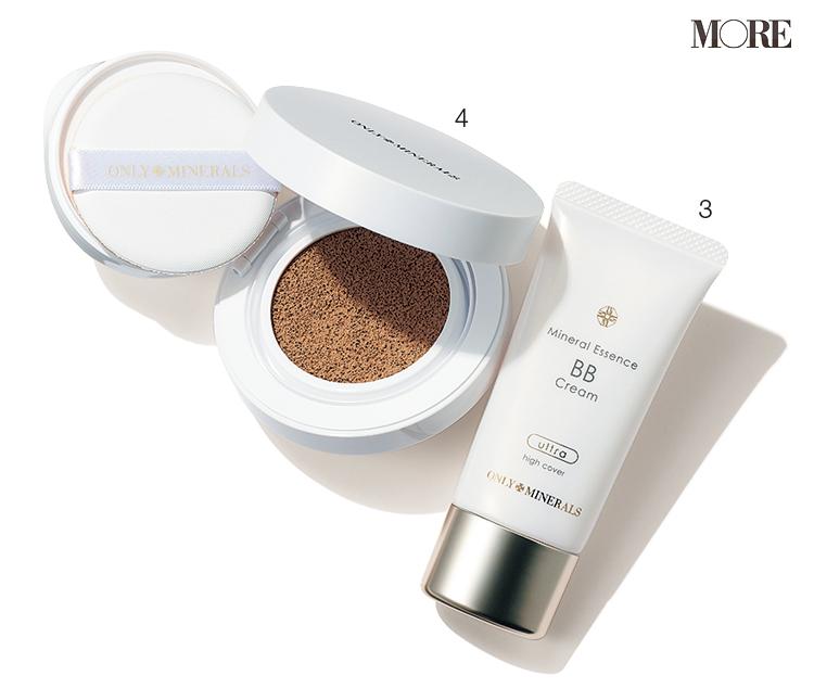 肌に優しい処方、スキンケア機能、UVケア効果が叶う「ミネラル系ベースメイク」4選。『エトヴォス』のノンケミカル処方下地や『オンリーミネラル』の美容液BBなど_2