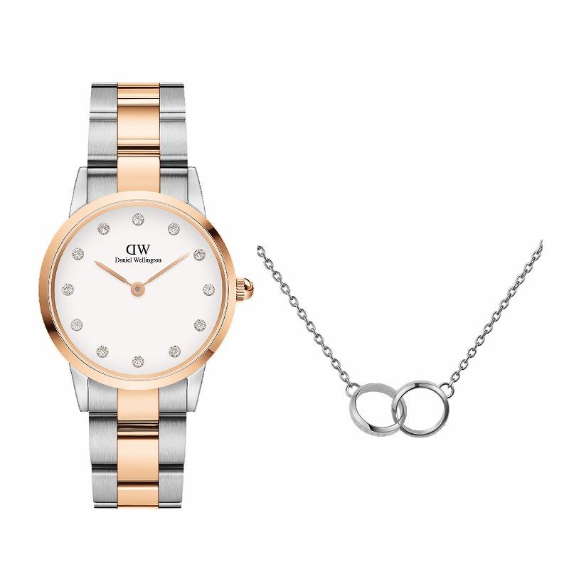 『ダニエル・ウェリントン』時計とネックレスの写真