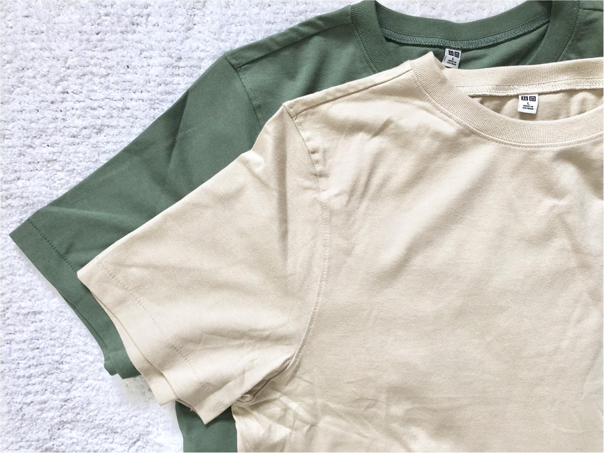 【UNIQLO】お洒落さんがこぞって買っている《話題のTシャツ》を2色買い❤️7/5までならお買い得なので急げっ!_2