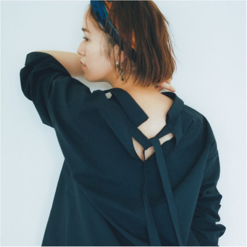 ちょっぴりの色気も欲しいから。佐藤栞里は「パーツをきれいに見せる服」を指名!_1_1