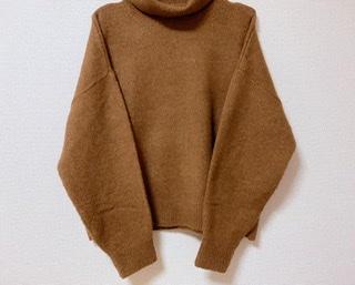 華奢見えの秘密はドロップショルダー《H&M》タートルネックセーター♡_2