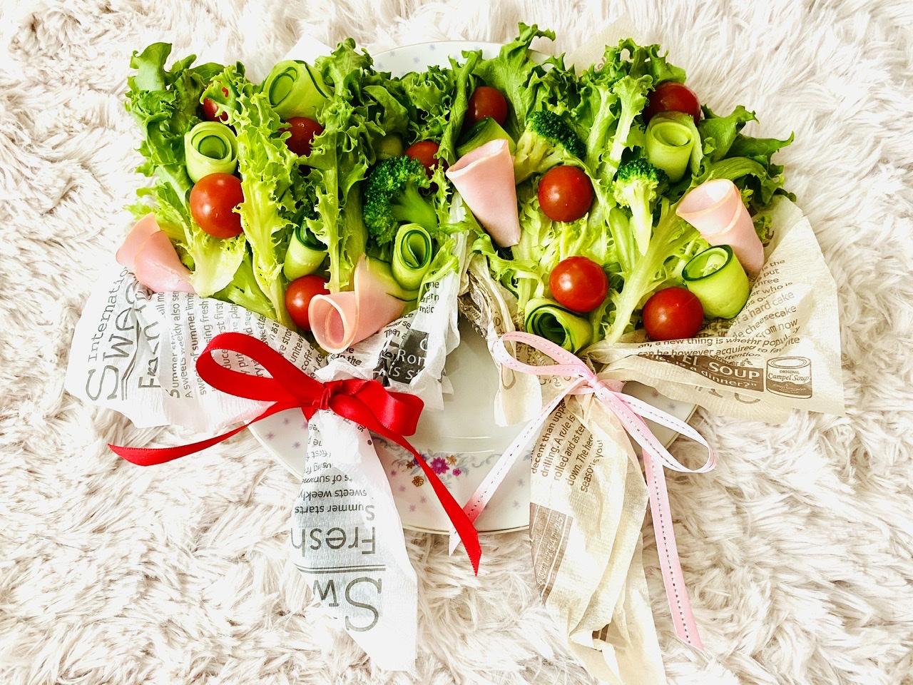 【おうちごはん】実は超簡単!?食べられる花束《ブーケサラダ》が華やかで可愛い♡_4