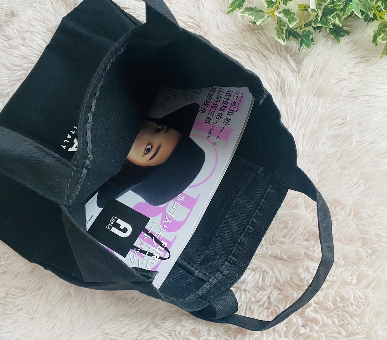 【MORE10月号】今月買うべき神付録!《FURLA》ロゴ入りモノトーントートバッグがお洒落すぎ♡_3