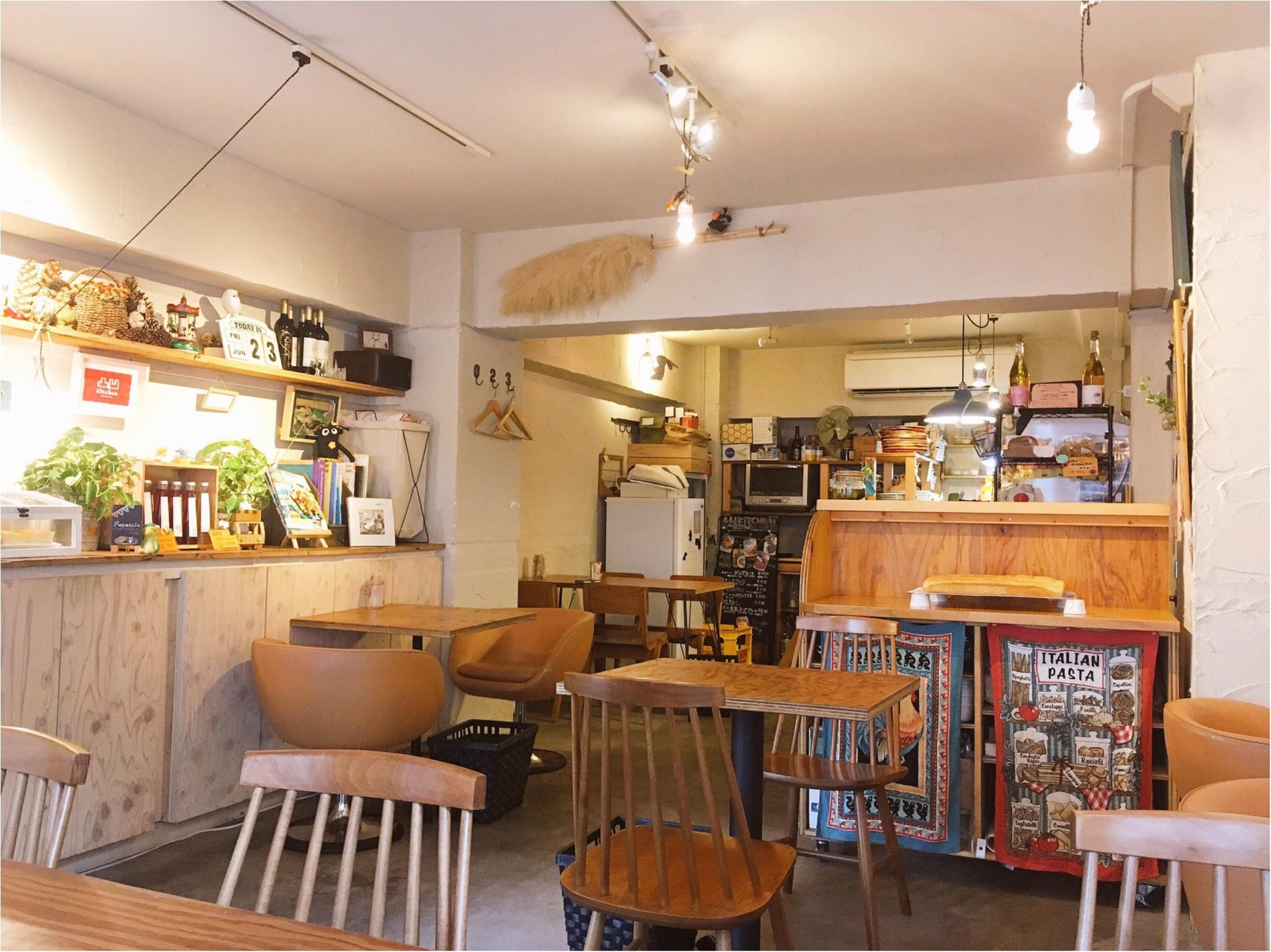 高田馬場の路地裏カフェ『凸凹キッチン』がナチュラルかわいい♡_3