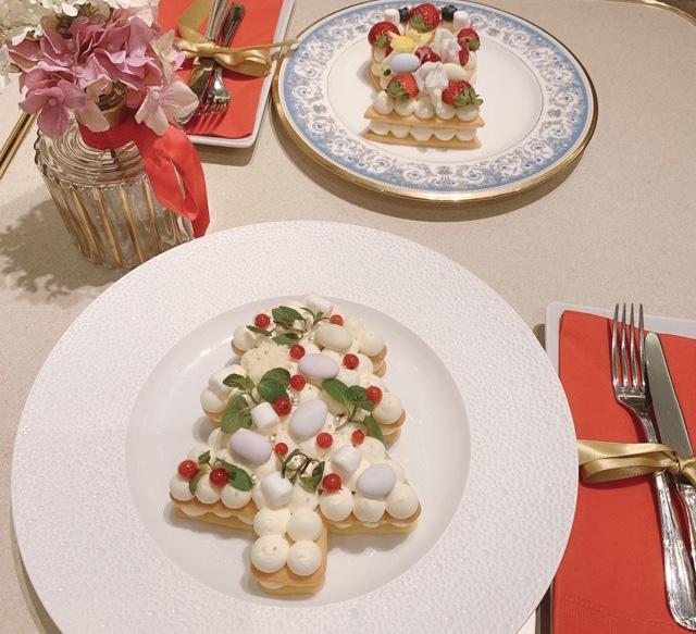 【有楽町カフェ】『ラ・メール・プラール』×marryカフェのクリスマスケーキがかわいすぎる♡_4