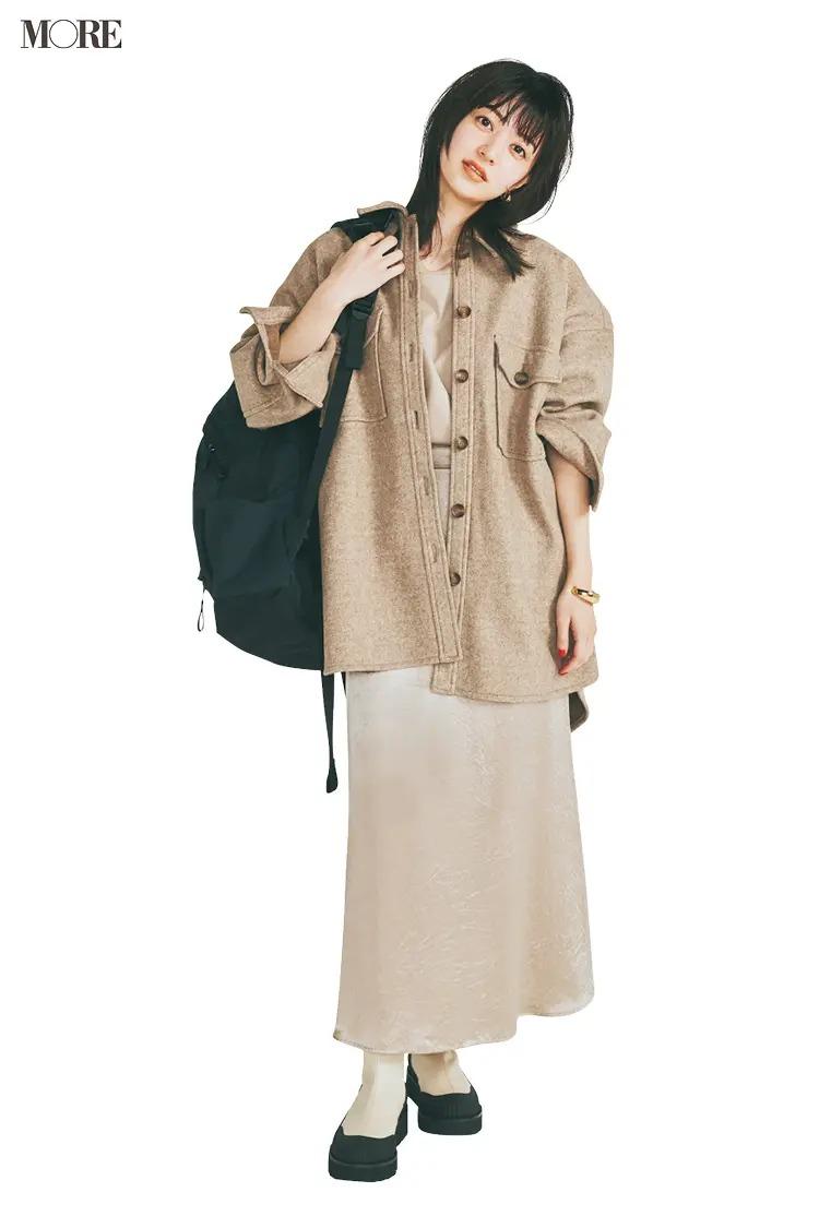 2021最新おすすめアウターの『イェッカ ヴェッカ』のCPOジャケットを着た全身コーデ