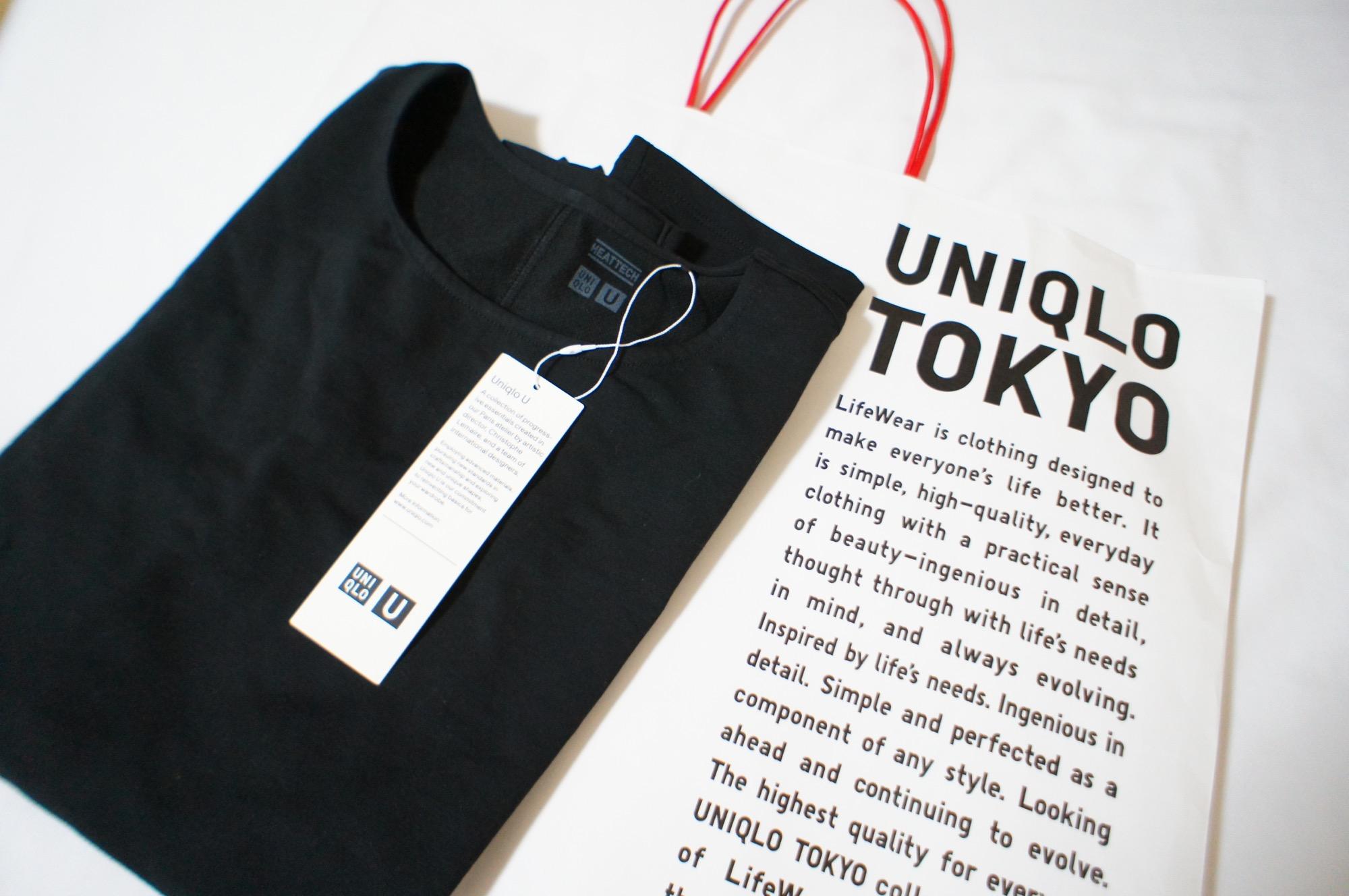 《1枚で着られる!》【Uniqlo U】初のヒートテックが登場❤️_1