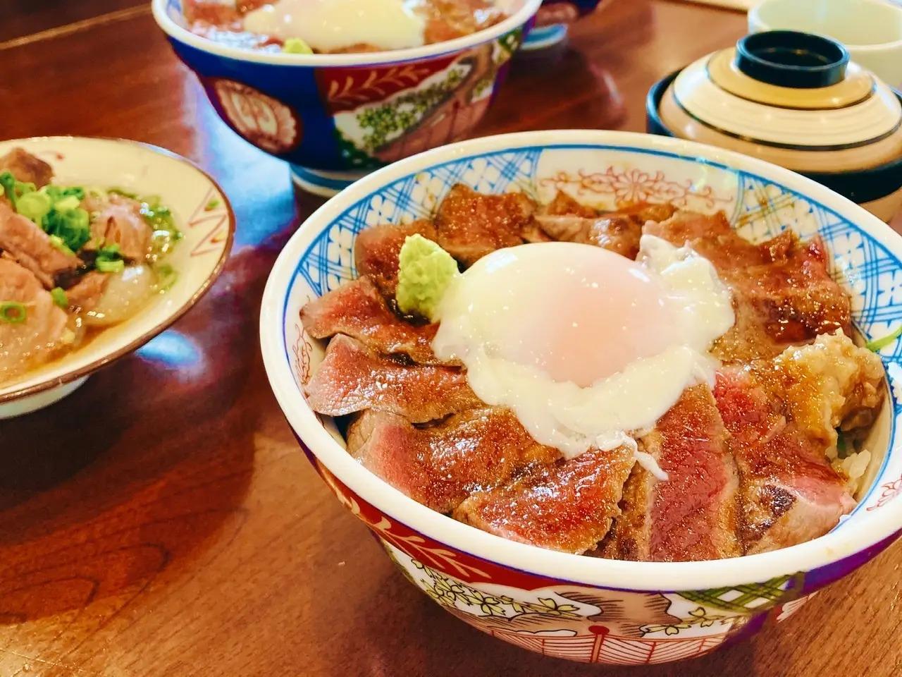 熊本県のお食事処『いまきん食堂』の「あか牛丼 」