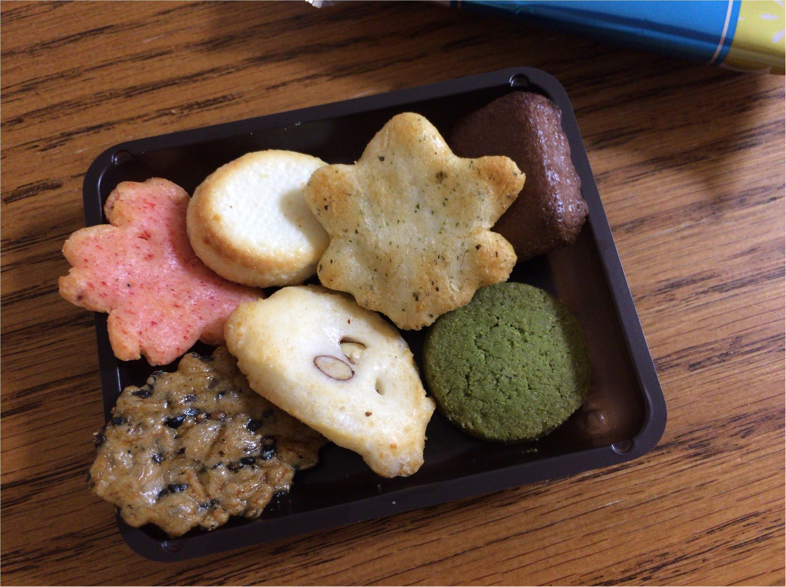 京都人が教える本当に美味しいもん♡【小倉山荘】甘辛両方楽しむ《あられ&ショコラ》_3