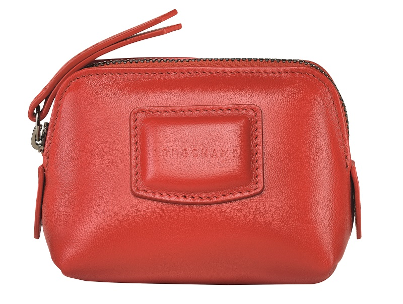 ロンシャン、赤いコインケース