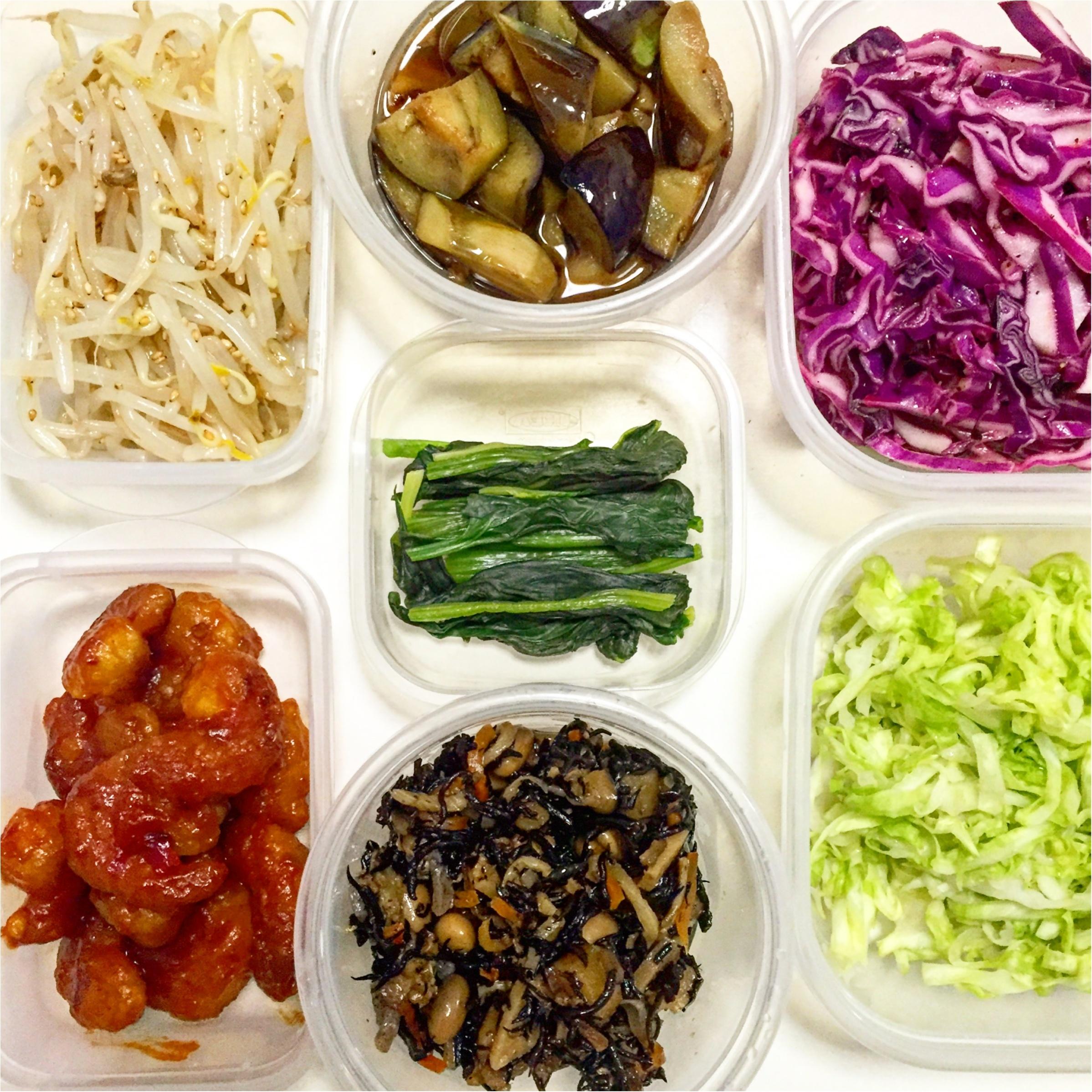 【彩りよくお弁当を作るコツpart2】5色で作る1週間のお弁当_1