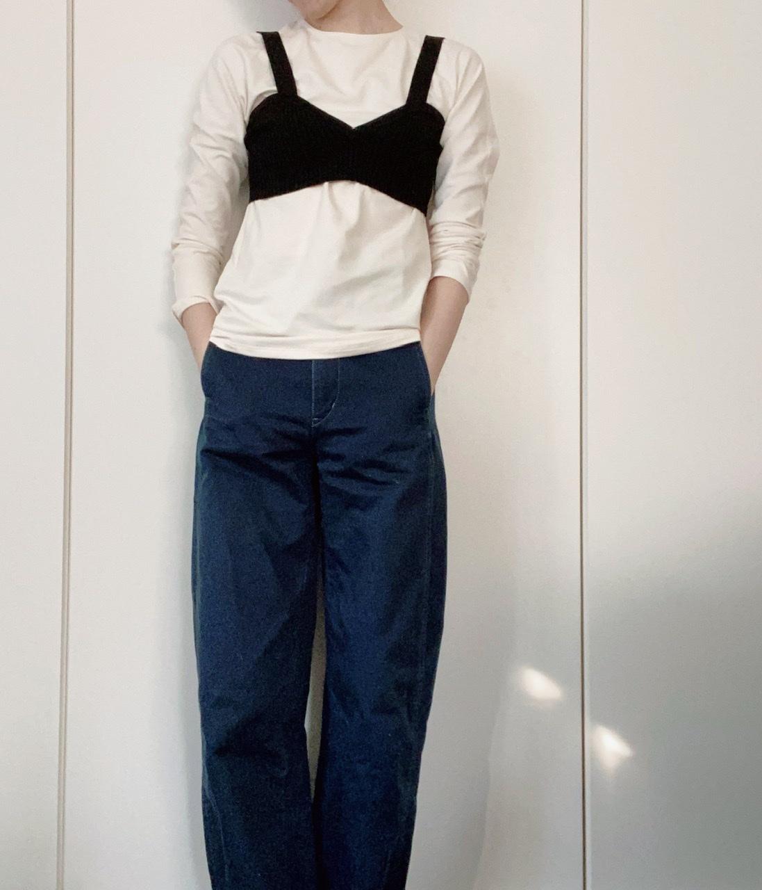 『ユニクロ ユー』ヒートテック発売記念! ライターみかりんがガチ私服で着回し♪ メンズアイテムはどう着こなす?_7