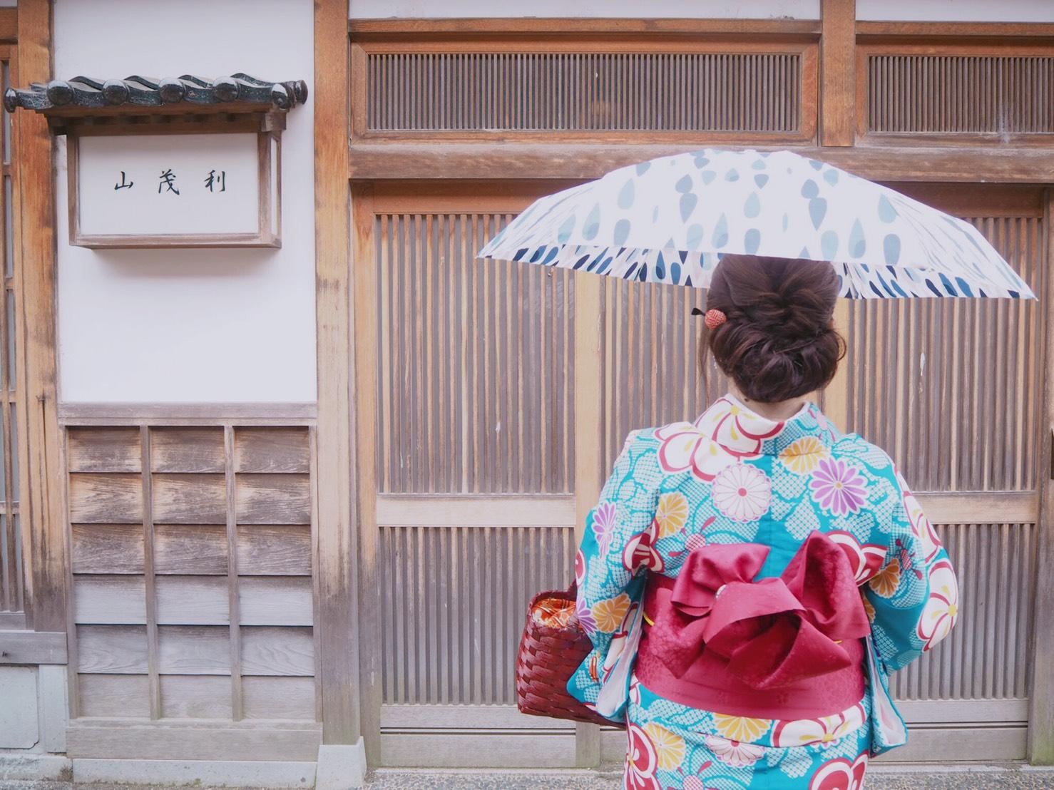 【金沢女子旅】1日目♡着物満喫コース《ひがし茶屋街/兼六園》_13
