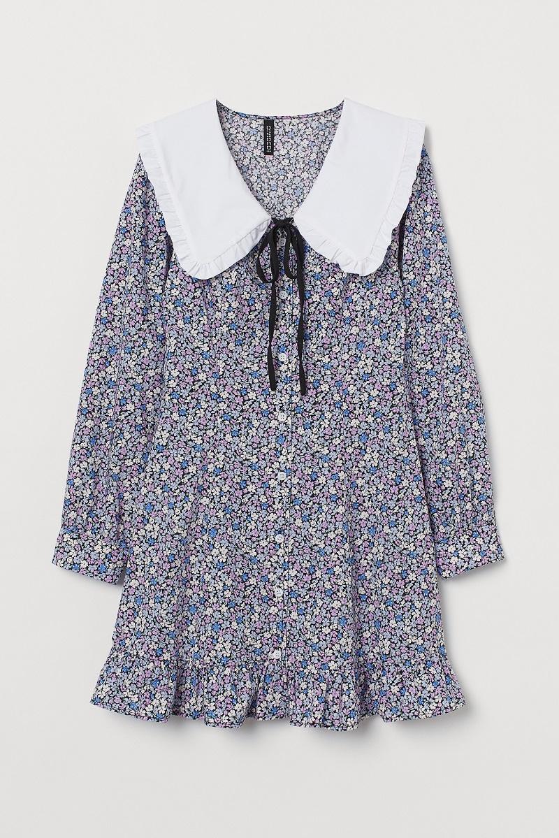 NiziUのNINAがH&M春夏キャンペーンで着用しているワンピース