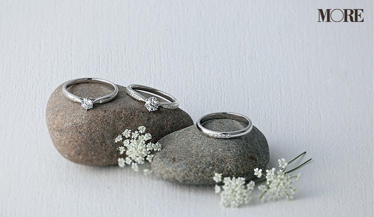 ヴァンドーム青山の婚約指輪 ダイヤモンド