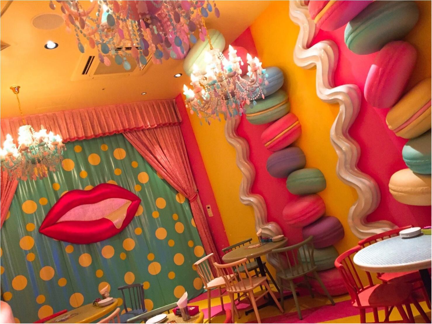 噂のカラフル可愛い原宿''kawaii monster café'' 写真ぢゃ伝えきれない夢の世界♡_2