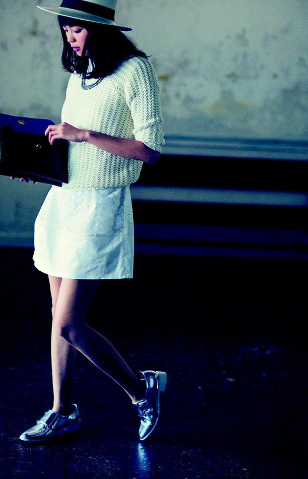 【今日のコーデ】クリーンな白のワントーンコーデでカフェランチへ♡_1