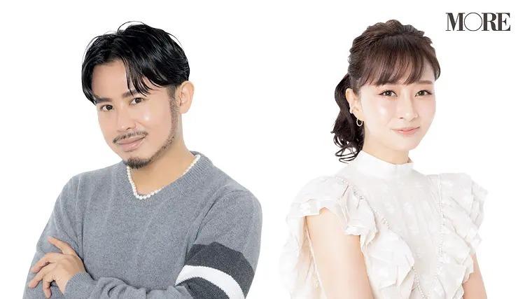 ヘア&メイク・小田切ヒロさんと、ホンネの美容家・石井美保さんのコスメ談義