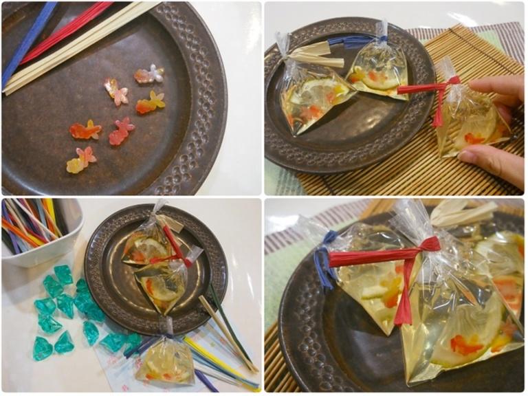 ユイミコさんに習う夏の和菓子作り体験で涼しげな「金魚の羊羮」にチャレンジ♪_4