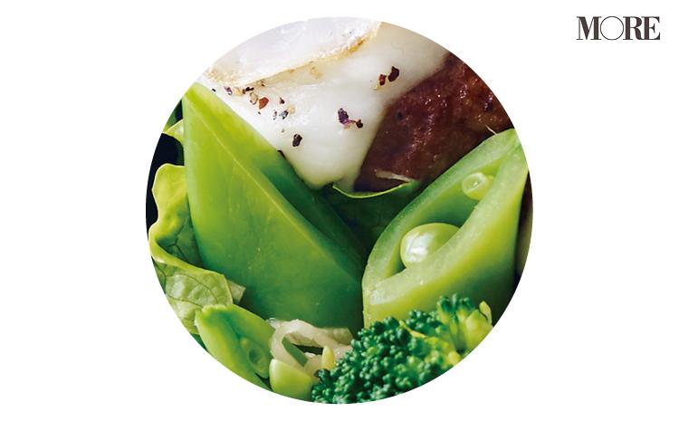 【作り置きお弁当レシピ】時短&簡単ミニハンバーグがメイン! 緑と黄色の野菜を使った副菜をたっぷり添えて☆ _4