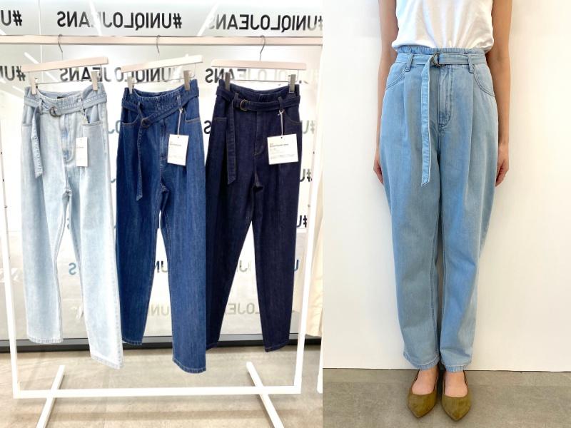 『ユニクロ』のジーンズ全種類はき比べ! スカート風、美脚見え、腰ばき…春はどのシルエットでいく? PhotoGallery_1_6