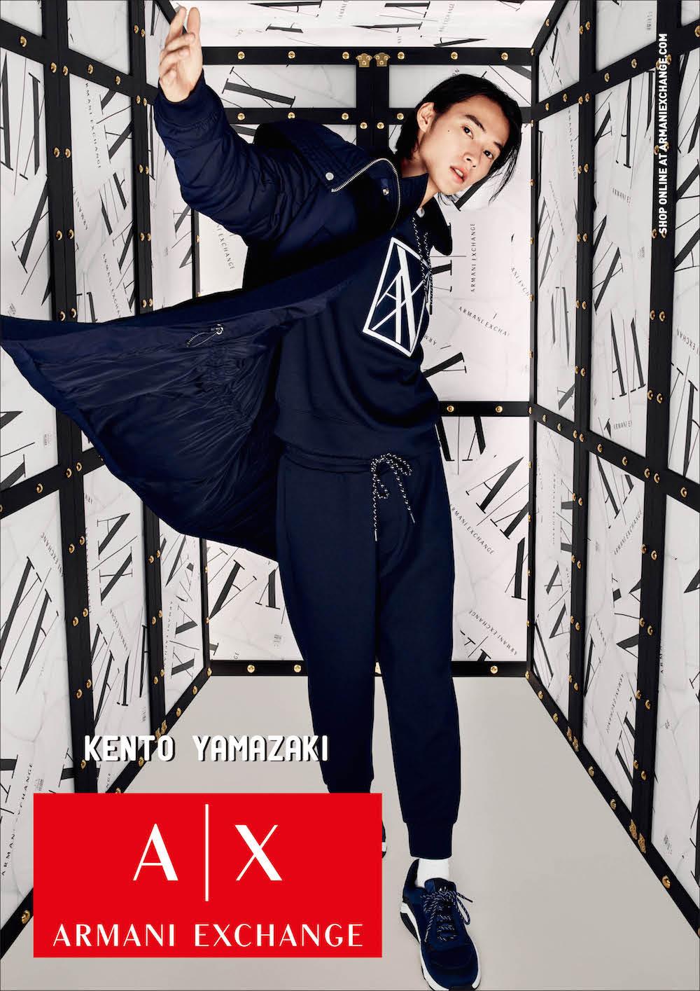 【速報】山﨑賢人さんが『アルマーニ エクスチェンジ』の広告モデルに!キャンペーンビジュアル全部見せます♡_2