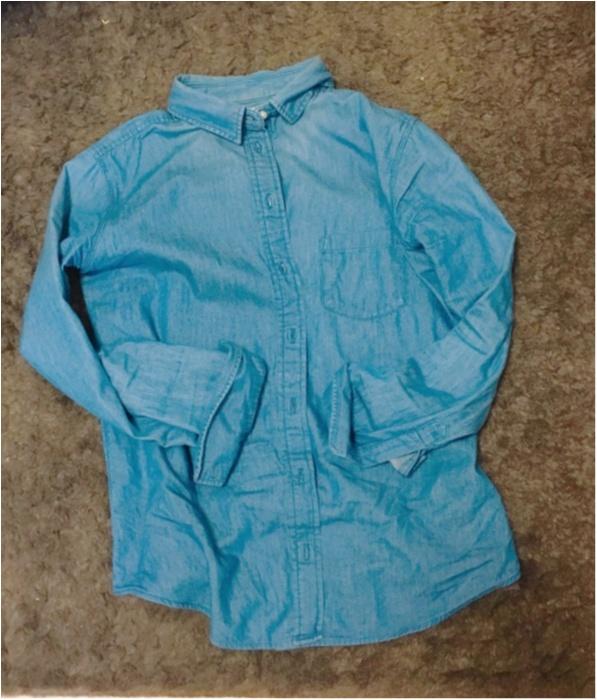 《春直前!これ一枚あればすぐに春顔♡》セーターからデニムシャツに変えてみませんか?_1