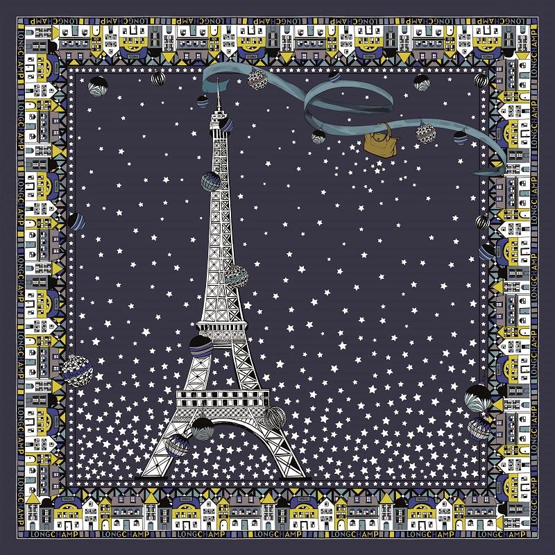 母の日ギフト、ロンシャンのスカーフ