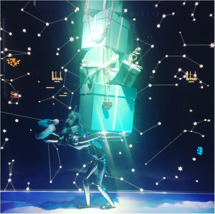 【銀ぶら】ティファニーブルーに惚れぼれ♡銀座のショーウィンドウでクリスマス気分を満喫♡♡_4
