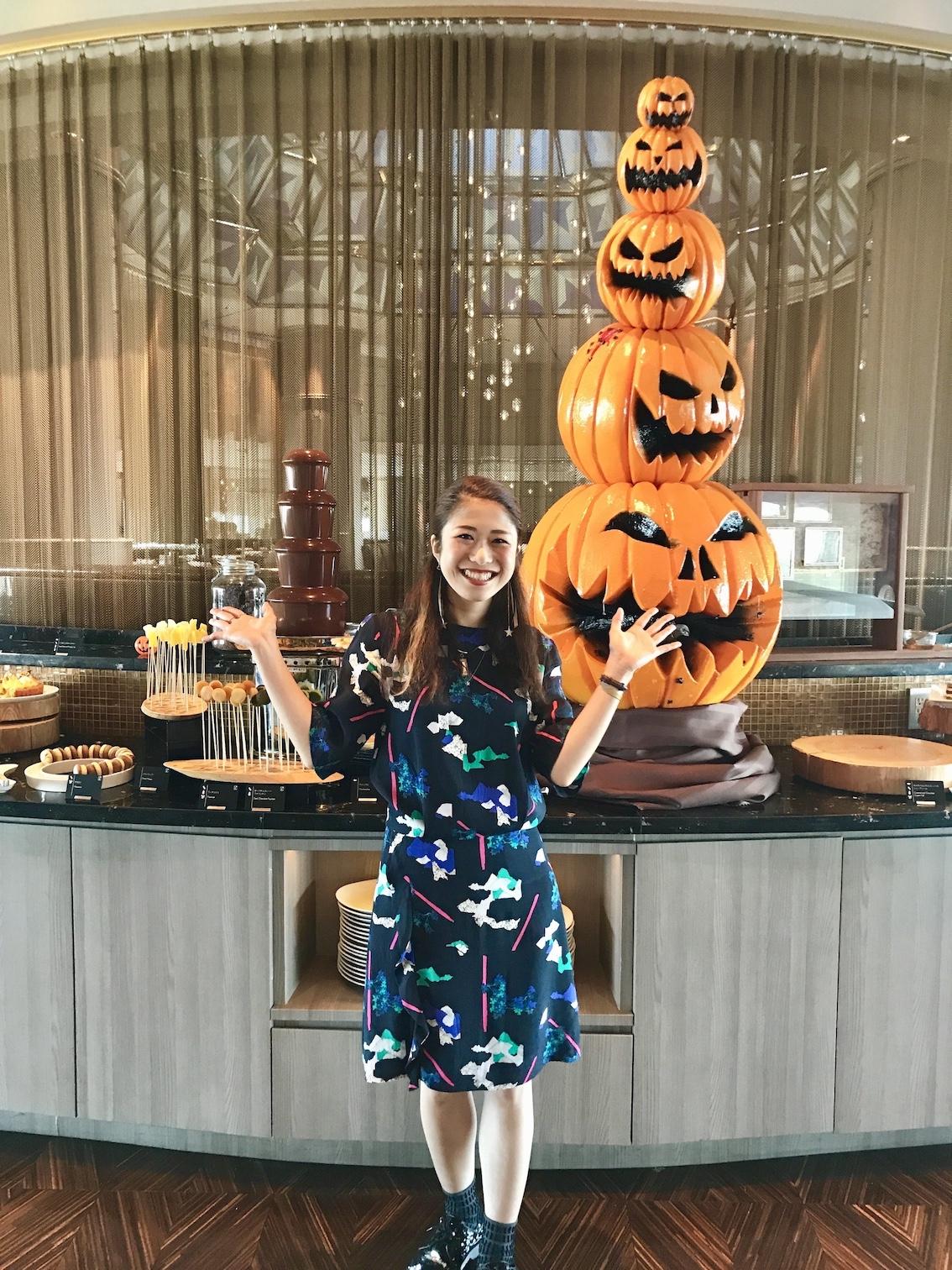【ハロウィンスイーツブッフェへ出掛けよう!】10/5〜スタート!スイスホテル南海大阪 Swiss Chocoholic Halloween Buffet レセプションに行ってきました。【大阪 難波 なんば】_1