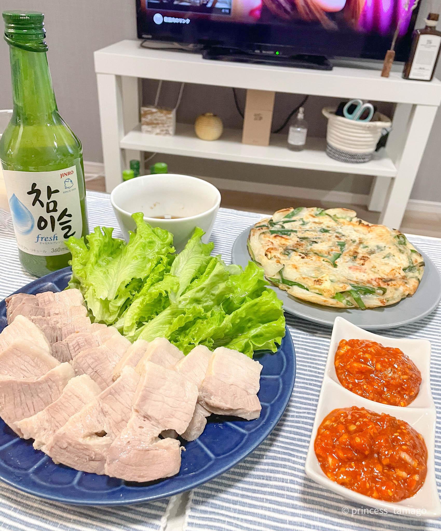 【時短で簡単!】韓国 night @home!! _1