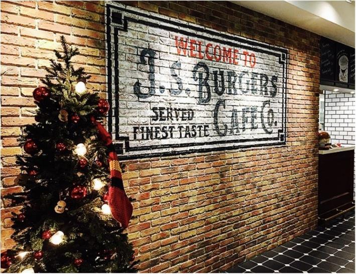 【J.S.Burgers Cafe】から《クリスマス限定メニュー》が新登場★ローストビーフとチキンバーガーが同時に堪能できちゃいます♡♡_1