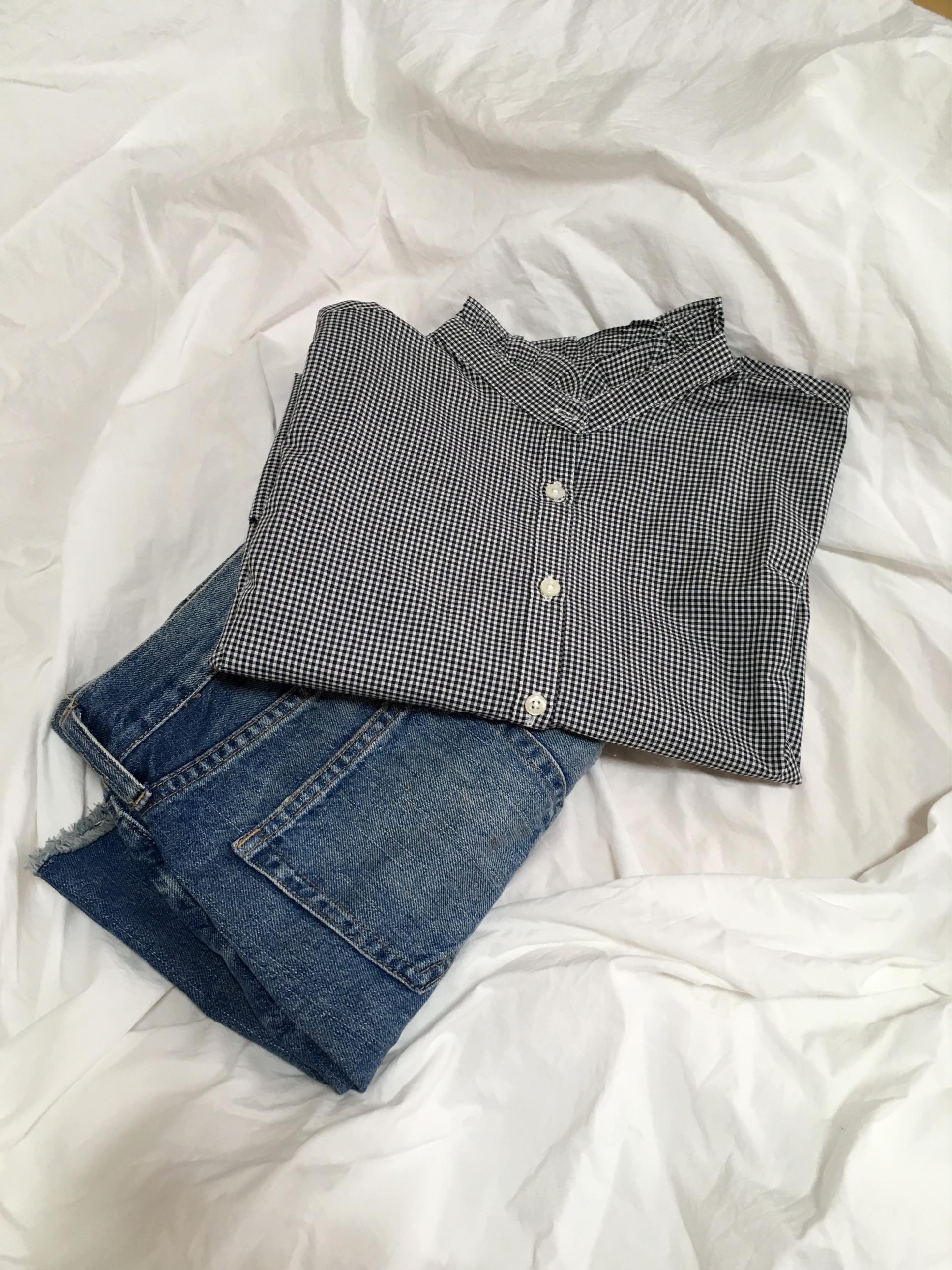 襟フリルが春らしくて可愛い♡その名もシャキシャキシャツ!_3