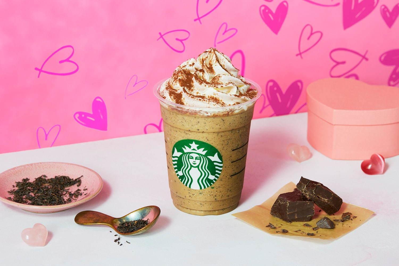 【スタバ 新作】バレンタイン2020第2弾! 「チョコレートwith ミルクティー フラペチーノ」が気になる♪ おすすめカスタマイズは?_1