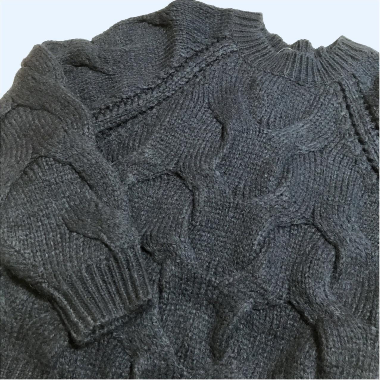 《超大型店限定》ざっくり感がかわいすぎっ♡ GUのケーブルセーター!_3