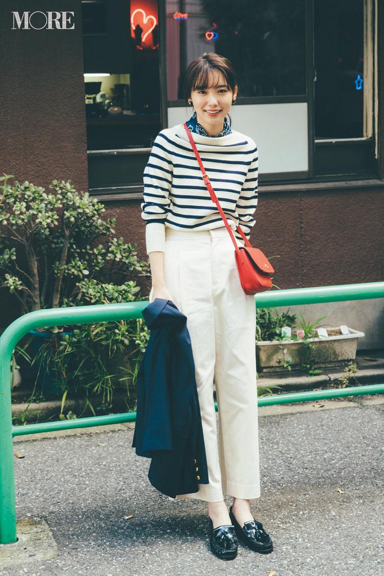 2018年秋のファッション ニット44
